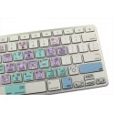 GARAGEBAND Galaxy series keyboard sticker apple