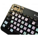 GARAGEBAND Galaxy series keyboard sticker 12x12