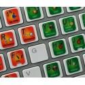 GROOVE PRO keyboard sticker