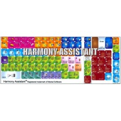 HARMONY ASSISTANT keyboard sticker