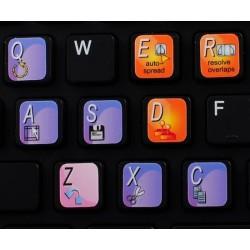 KONTAKT keyboard sticker