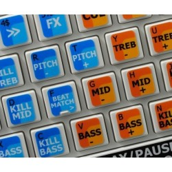 MIXVIBES DVS PRO keyboard sticker