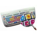 Avid Xpress / Media Composer keyboard sticker