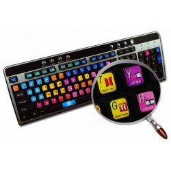 Avid Xpress / Media Composer keyboard sticker