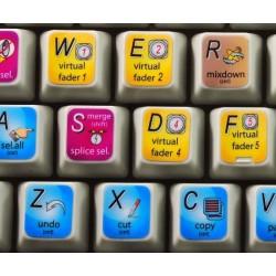 N-TRACK STUDIO keyboard sticker