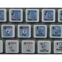 TRAKTOR PRO keyboard sticker