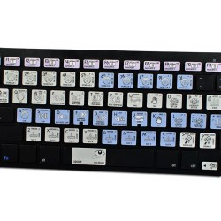 TRAKTOR PRO Galaxy series keyboard sticker apple