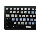 TRAKTOR PRO Galaxy series keyboard sticker 12x12
