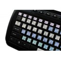TRAKTOR SCRATCH PRO Galaxy series keyboard sticker 12x12