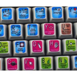 Adobe After Effects keyboard sticker