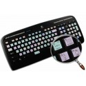 Adobe After Effects Galaxy series keyboard sticker 12x12 size