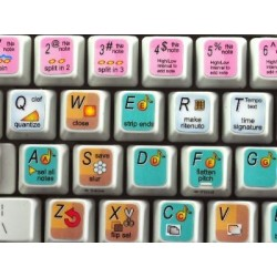 Neuratron PhotoScore keyboard sticker