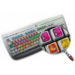 PCDJ DEX keyboard sticker