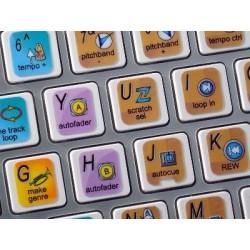 PIONEER DJS keyboard sticker