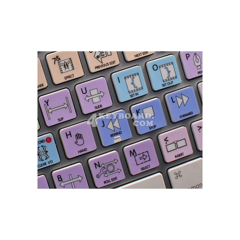 Adobe Premiere Galaxy series keyboard sticker