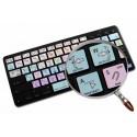 Adobe Premiere Galaxy series keyboard sticker