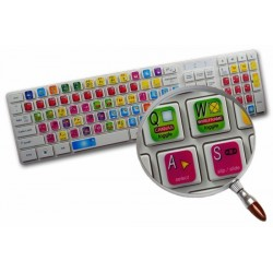 Apple Final Cut keyboard sticker