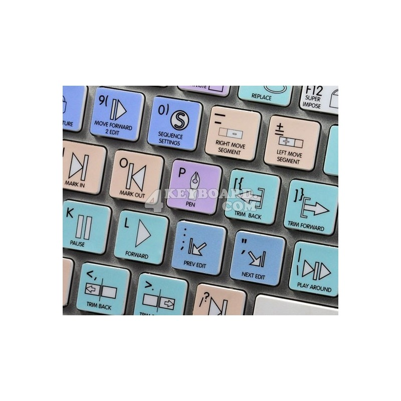 Apple Final Cut Pro Galaxy series keyboard sticker