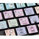 Apple Final Cut Pro X Galaxy series keyboard sticker