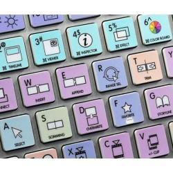 Apple Final Cut Pro X Galaxy series keyboard sticker