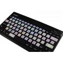 Apple Final Cut Pro X Galaxy series keyboard sticker 12x12 size