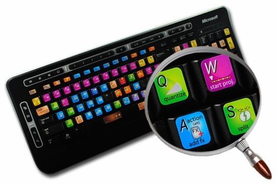 REAPER keyboard sticker