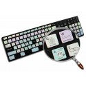 REAPER Galaxy series keyboard sticker apple