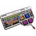 SAMPLITUDE keyboard sticker