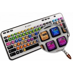 SAMPLITUDE keyboard sticker