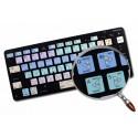 SCRATCH LIVE Galaxy series keyboard sticker apple