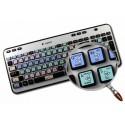 SCRATCH LIVE Galaxy series keyboard sticker 12x12