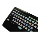 SIBELIUS Galaxy series  keyboard sticker 12x12