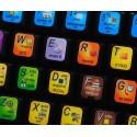 SONAR X keyboard sticker