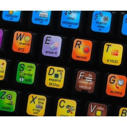 SONAR X keyboard sticker