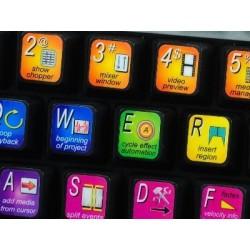 SONY ACID keyboard sticker