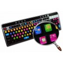 MAGIX ACID keyboard sticker