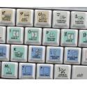 SONY ACID Galaxy series keyboard sticker 12x12