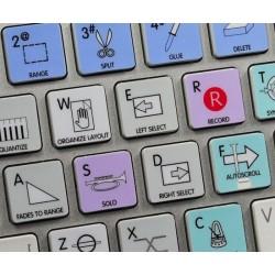 CUBASE / NUENDO Galaxy series keyboard sticker  apple