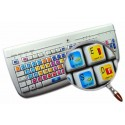 Avid Xpress keyboard sticker