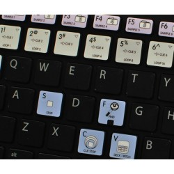 VIRTUAL DJ Galaxy series keyboard sticker