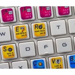 ZULU DJ keyboard sticker