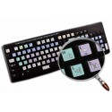 Canopus EDIUS Galaxy series keyboard sticker 12x12 size