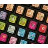 Apple Motion keyboard sticker