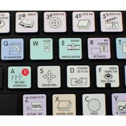 Apple Motion Galaxy series keyboard sticker