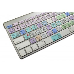 Apple Motion Galaxy series keyboard sticker