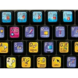 Adobe Flash keyboard sticker