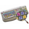 Animate keyboard sticker