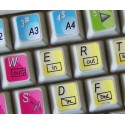 Quantel keyboard sticker