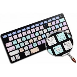 ILLUSTRATOR Galaxy series keyboard sticker apple