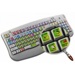 INDESIGN keyboard sticker
